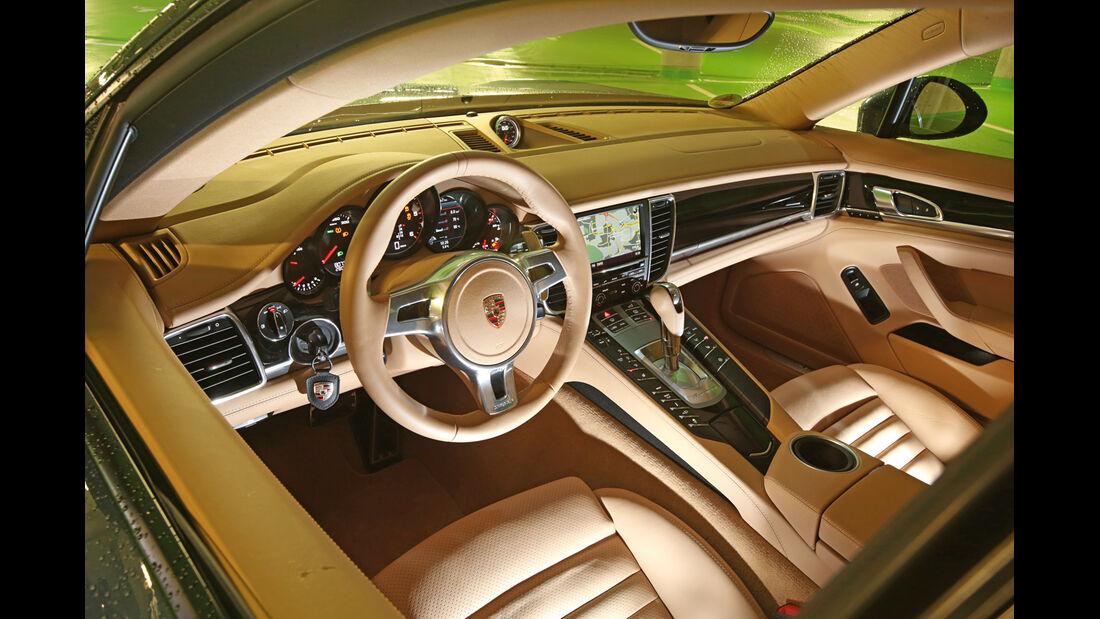Porsche Panamera Diesel, Cockpit