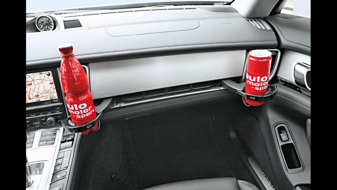 Porsche Panamera Diesel, Cupholder, Flaschenhalter