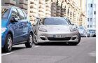 Porsche Panamera Diesel, Front, Einparken