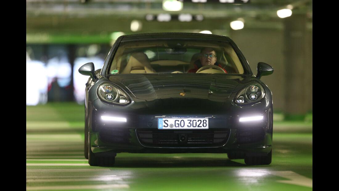 Porsche Panamera Diesel, Frontansicht