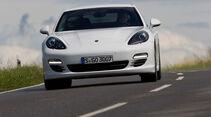 Porsche Panamera Diesel, Frontansicht, Front