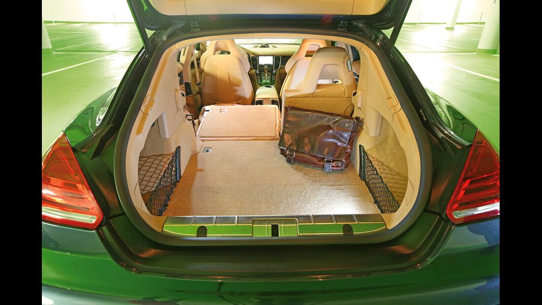 Porsche Panamera Diesel, Kofferraum