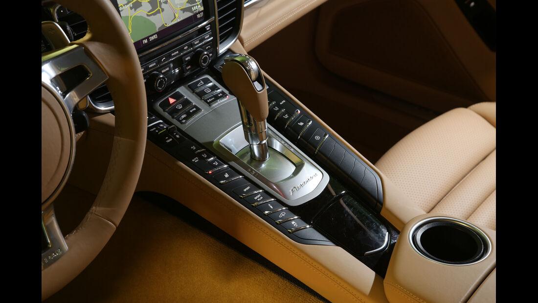 Porsche Panamera Diesel, Mittelkonsole