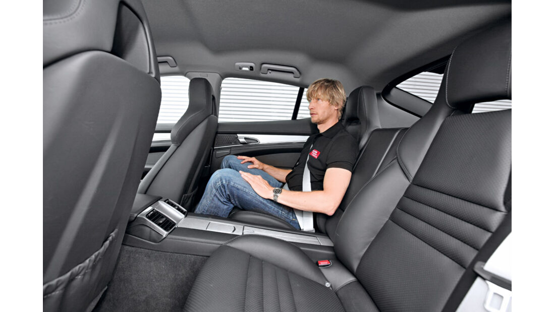Porsche Panamera Diesel, Rücksitz, Marcus Peters