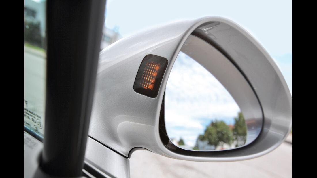 Porsche Panamera Diesel, Rückspiegel, Seitenspiegel