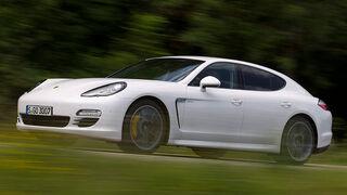 Porsche Panamera Diesel, Seitenansicht