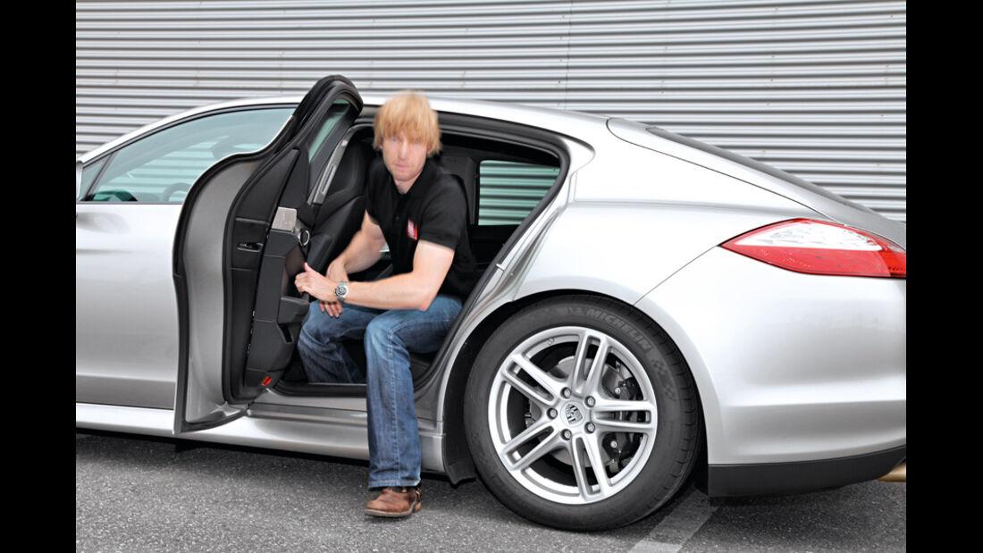 Porsche Panamera Diesel, Seitentür, Marcus Peters