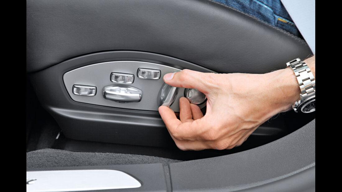 Porsche Panamera Diesel, Sitzverstellung