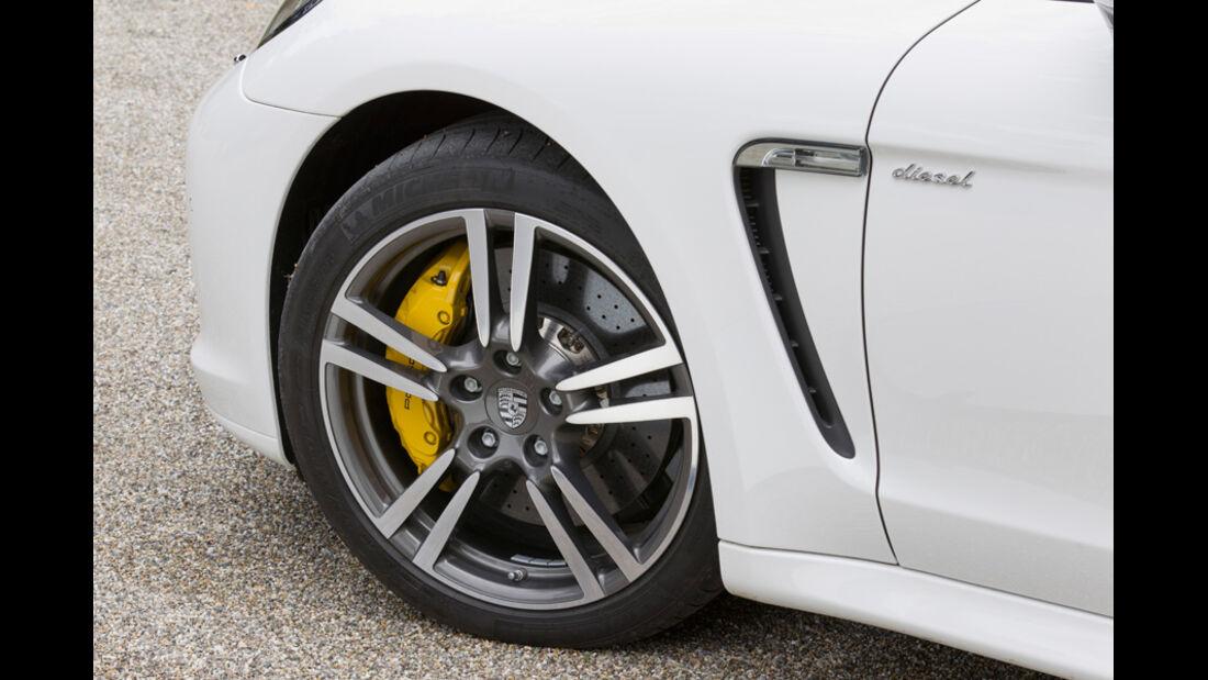 Porsche Panamera Diesel, Vorderrad, Felge