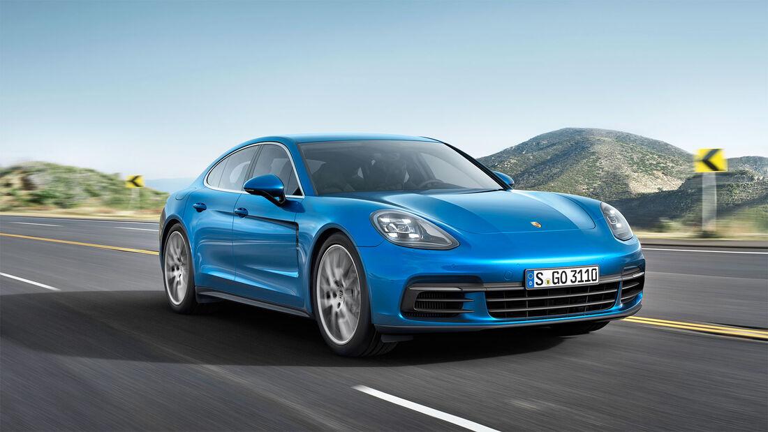 Porsche Panamera, Exterieur