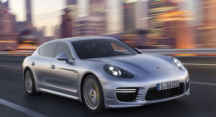 Porsche Panamera Facelift 2013