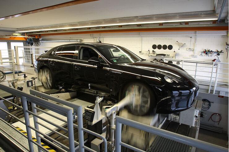 Porsche Panamera Fahrwerk