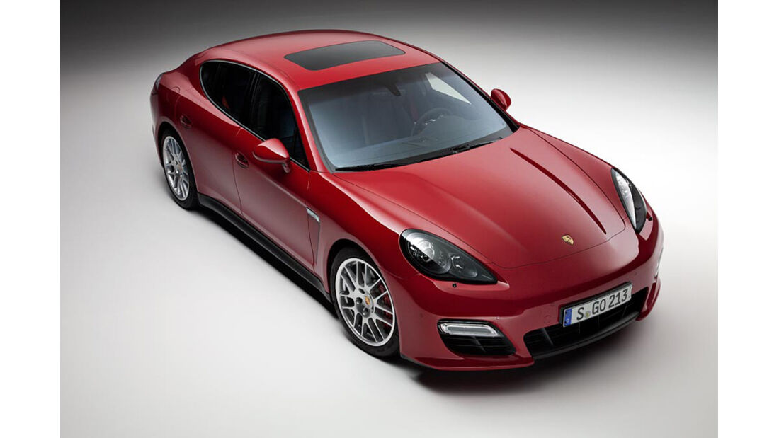 Porsche Panamera GTS, Draufsicht