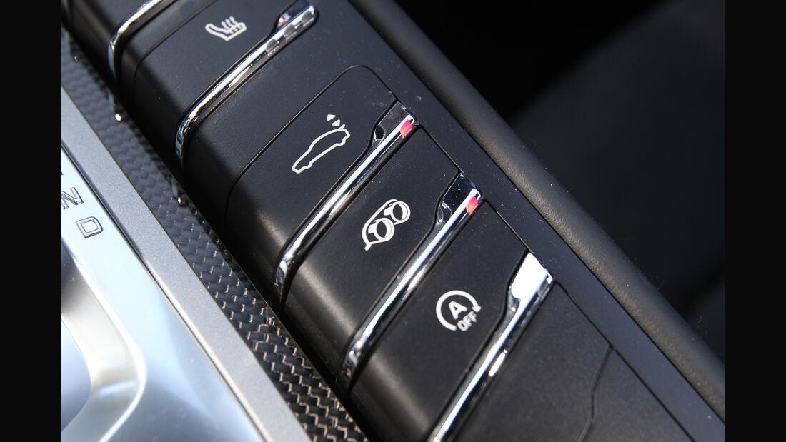 Porsche Panamera GTS, Fahreinstellung, Bedienelemente