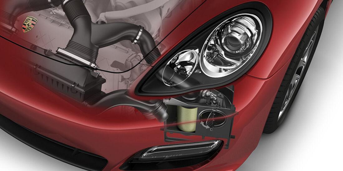 Porsche Panamera GTS, Frontscheinwerfer