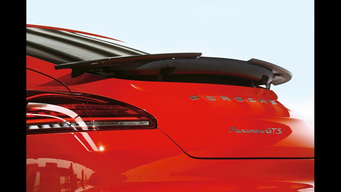 Porsche Panamera GTS, Heckspoiler