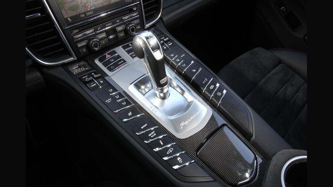 Porsche Panamera GTS, Schalthebel, Schaltknauf