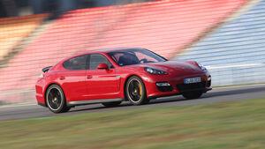 Porsche Panamera GTS, Seitenansicht