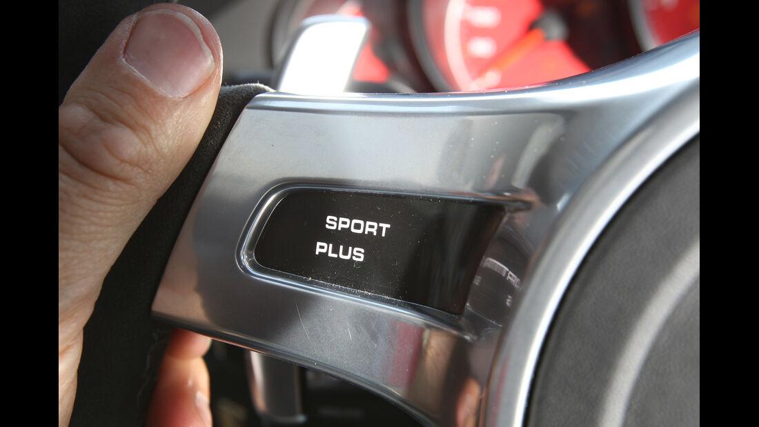 Porsche Panamera GTS, Wippschalter