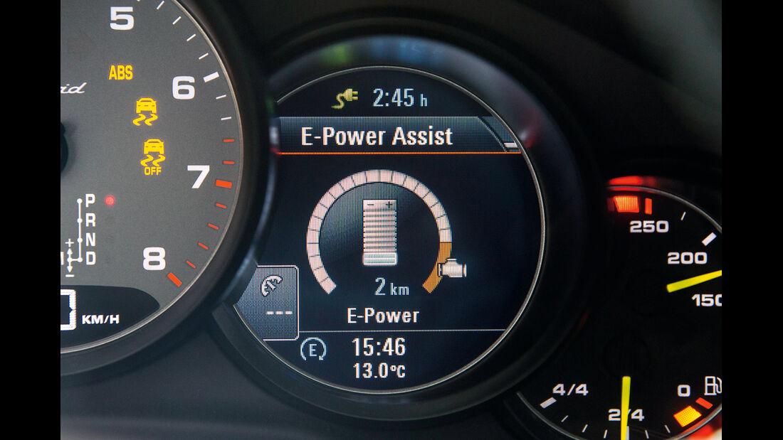 Porsche Panamera, Hybrid-Funktionen