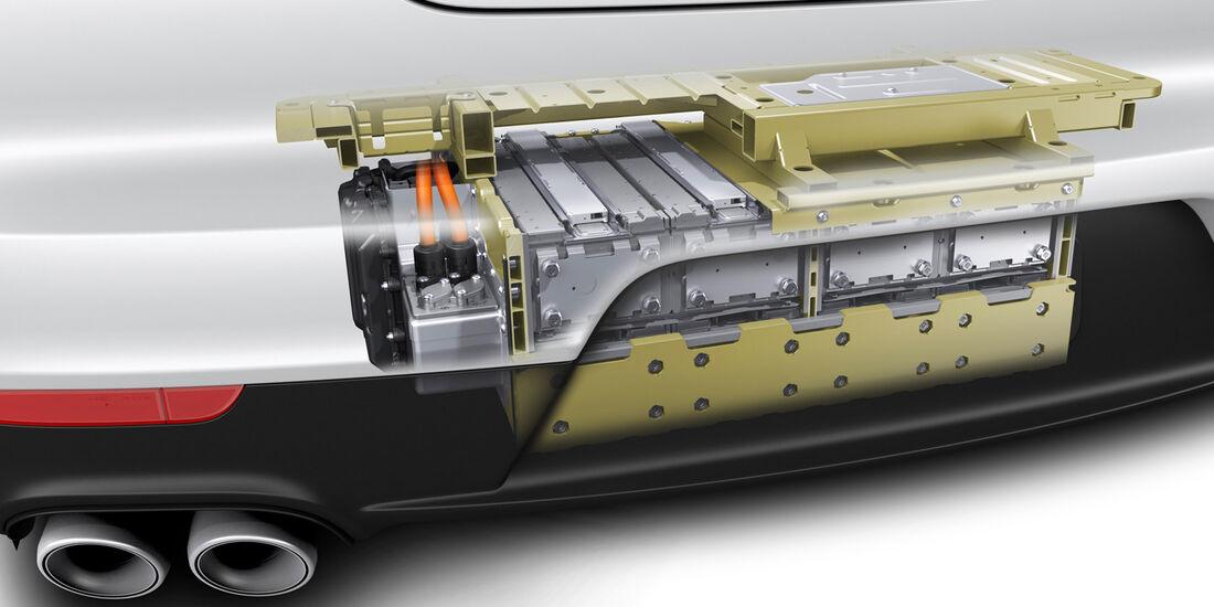 Porsche Panamera Plug-in-Hybrid, Batterie