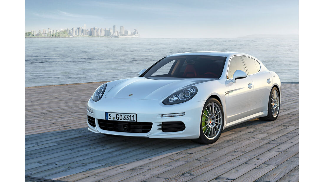 Porsche Panamera Plug-in-Hybrid, Frontansicht