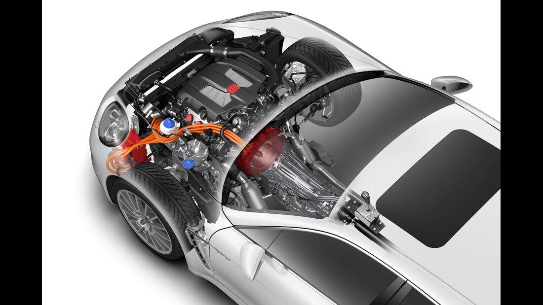 Porsche Panamera Plug-in-Hybrid, Motor