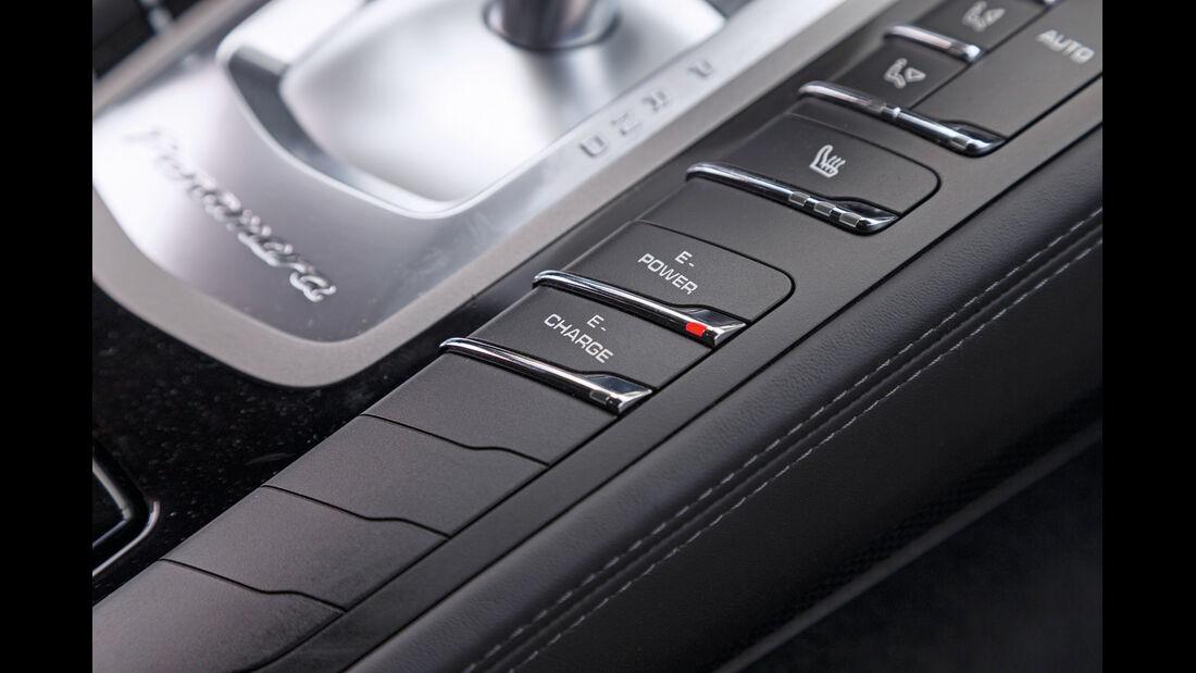 Porsche Panamera S E-Hybrid, Bedienelemente