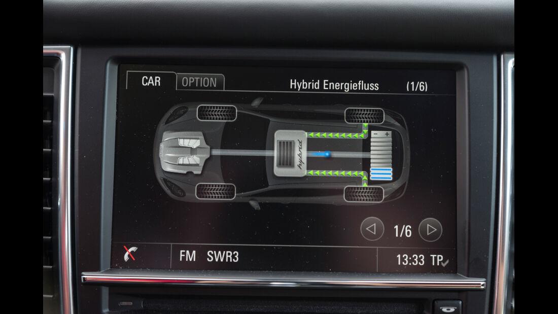 Porsche Panamera S E-Hybrid, Bordcomputer
