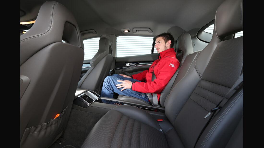 Porsche Panamera S E-Hybrid, Fondsitz
