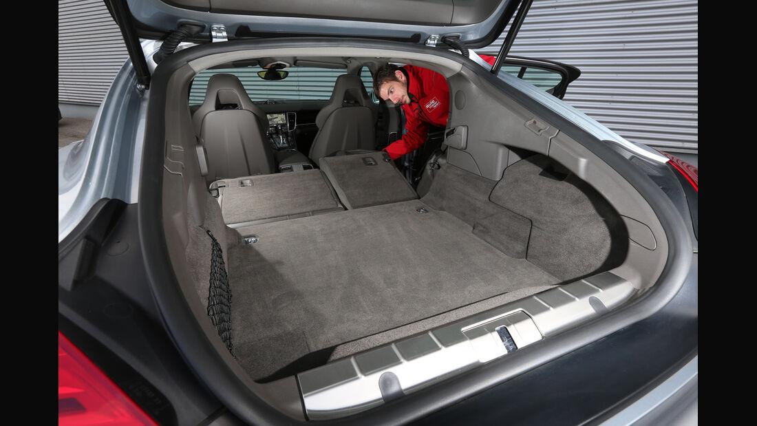 Porsche Panamera S E-Hybrid, Ladefläche