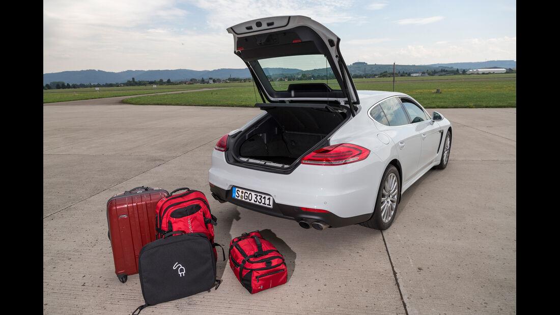 Porsche Panamera S E-Hybrid, Ladevolumen