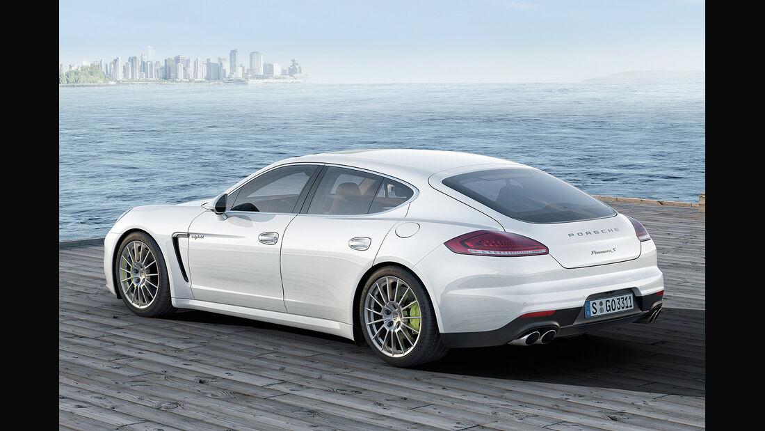 Porsche Panamera S E-Hybrid, i-mobility
