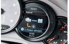 Porsche Panamera S Hybrid, Anzeige
