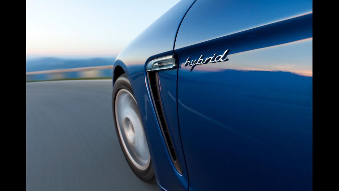 Porsche Panamera S Hybrid, Seite, Vorderrad, Fahrt