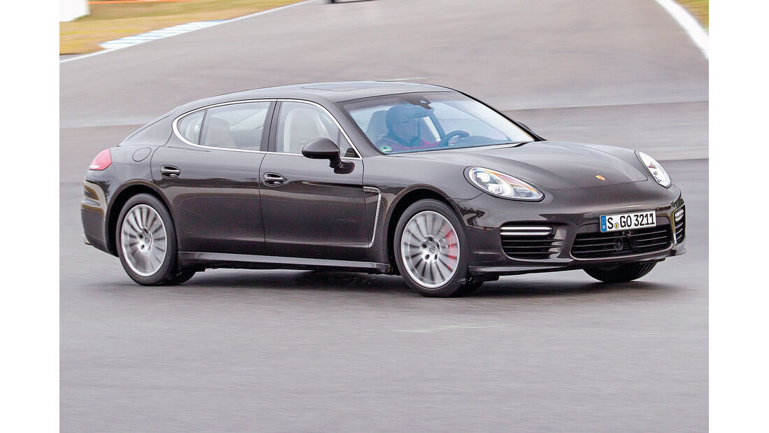 Porsche Panamera, Seitenansicht