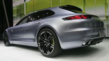 Porsche Panamera Sport Turismo, VW Konzernabend, Autosalon Paris 2012