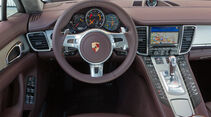 Porsche Panamera Tubo S, Cockpit, Lenkrad