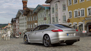 Porsche Panamera Tubo S, Heck, Augsburg