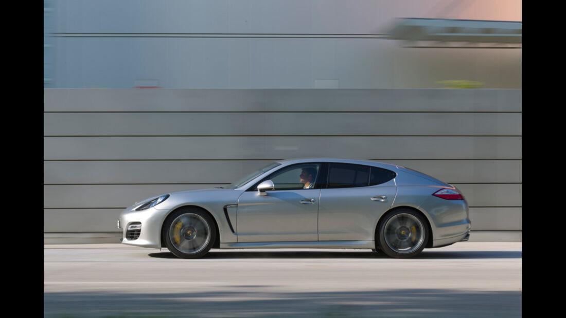 Porsche Panamera Tubo S, Seitenansicht