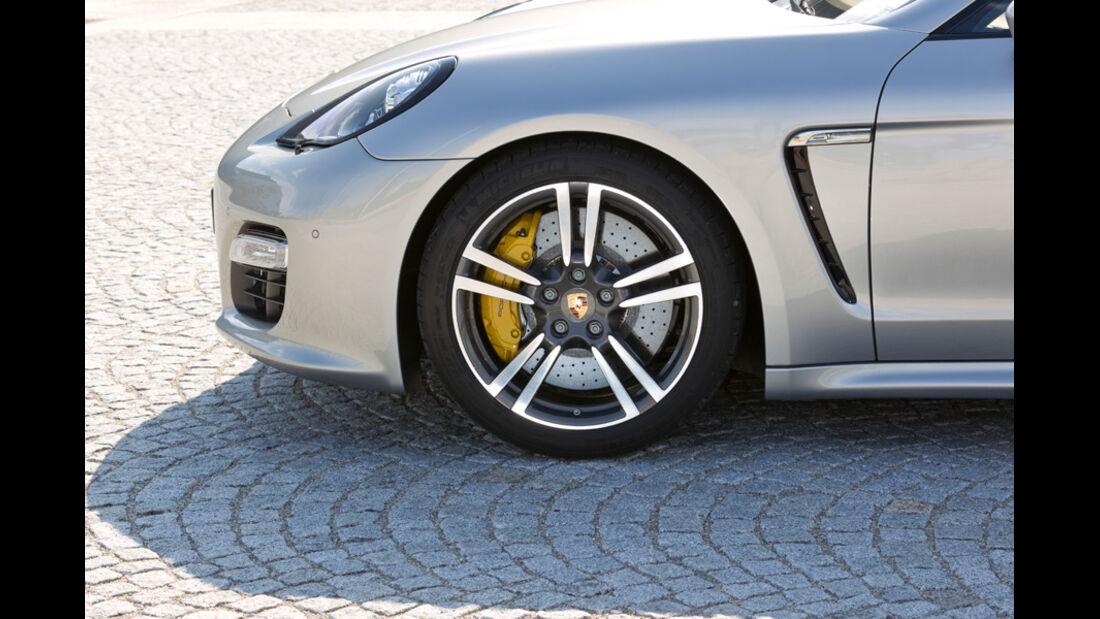 Porsche Panamera Tubo S, Vorderrad, Felge