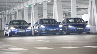 Porsche Panamera Turbo, BMW M6 Gran Coupé, Audi RS 7