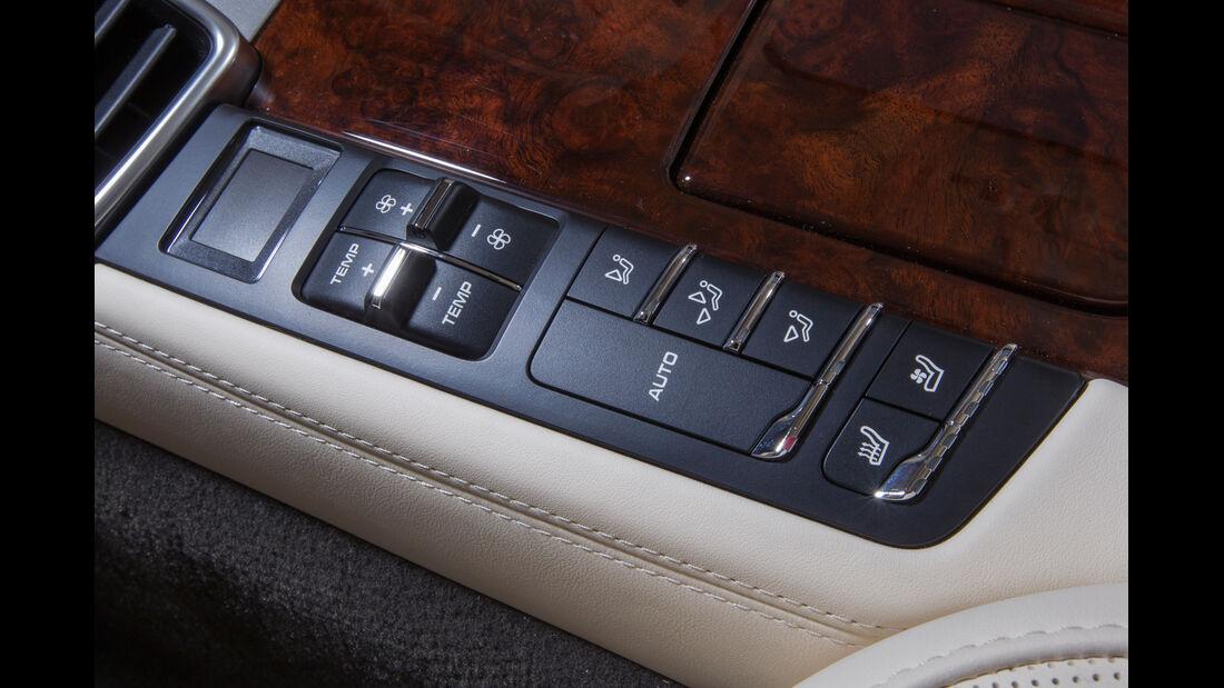 Porsche Panamera Turbo, Bedienelemente