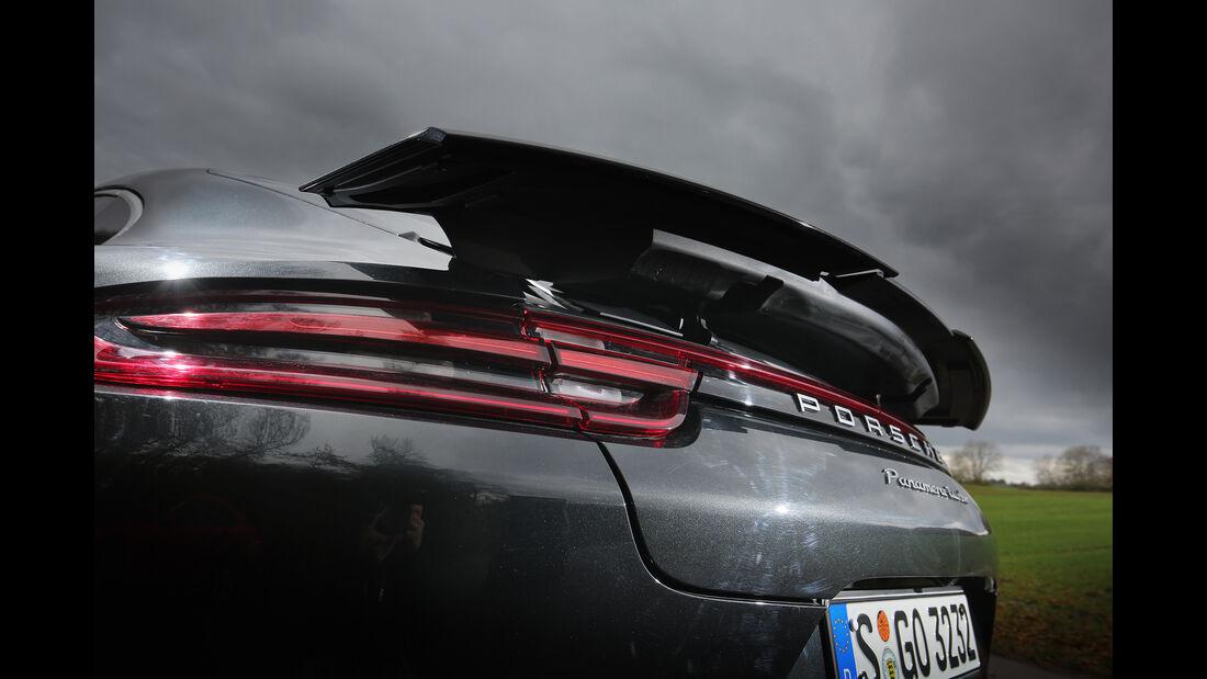 Porsche Panamera Turbo, Exterieur