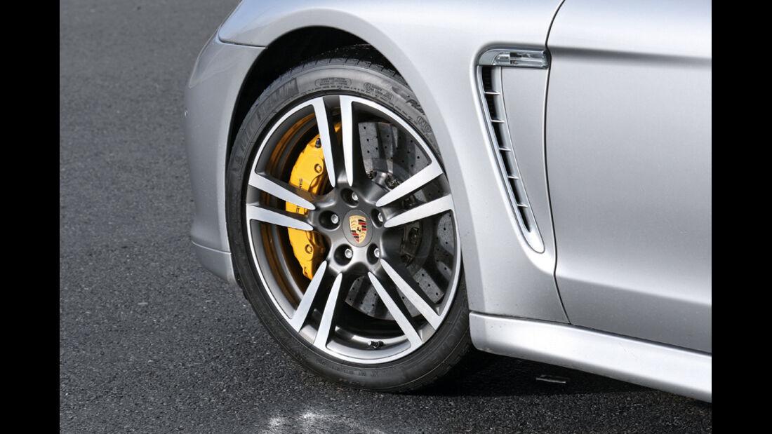 Porsche Panamera Turbo, Felge