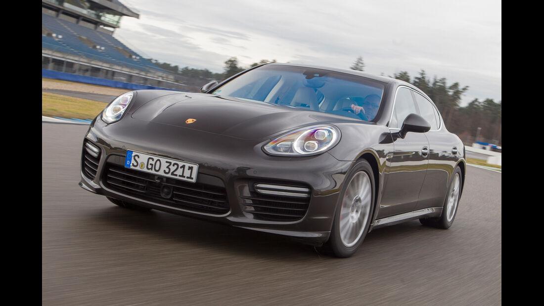 Porsche Panamera Turbo, Frontansicht