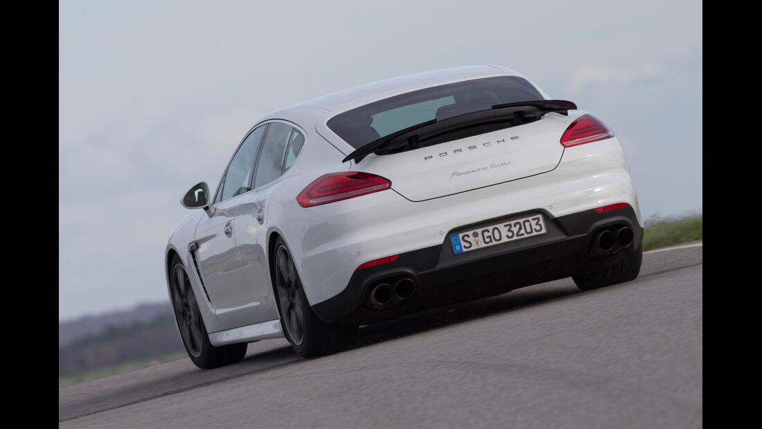 Porsche Panamera Turbo, Heckansicht