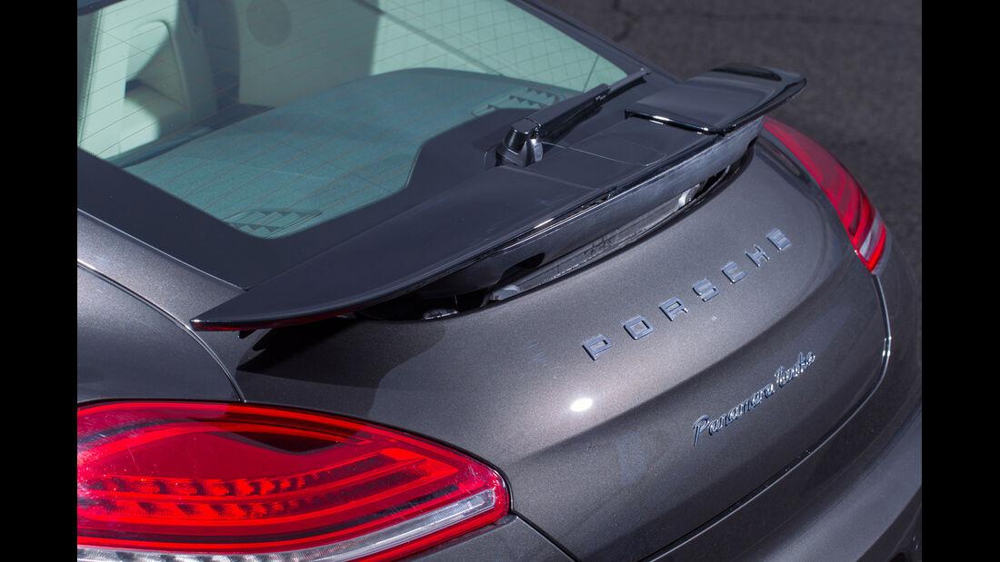 Porsche Panamera Turbo, Heckspoiler