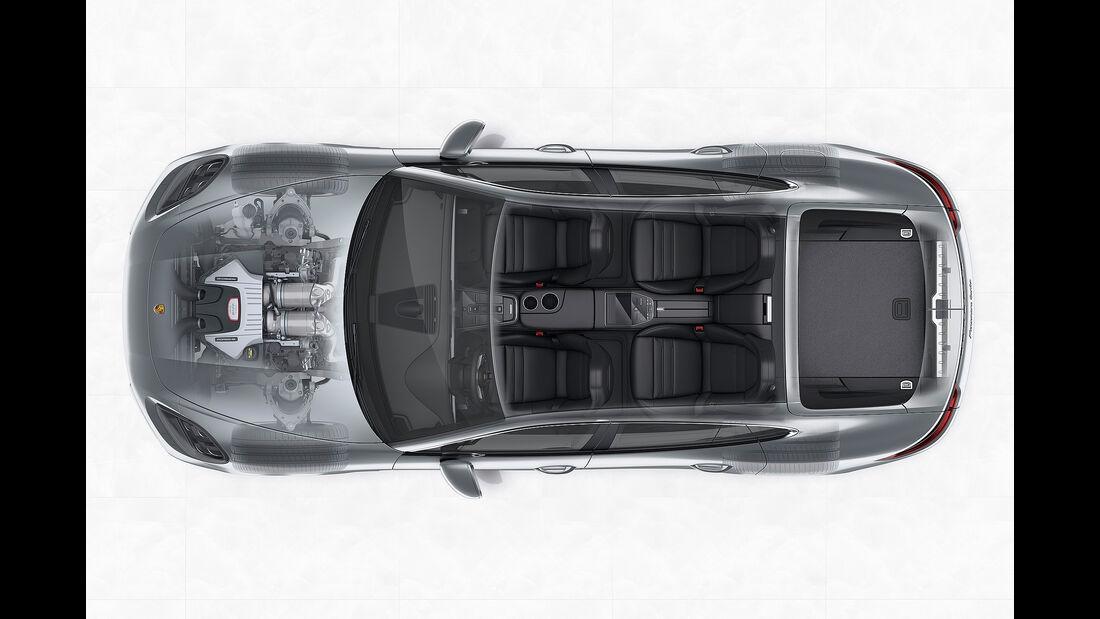 Porsche Panamera Turbo: Package