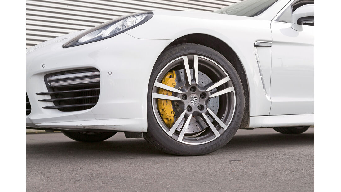 Porsche Panamera Turbo, Rad, Felge, Bremse